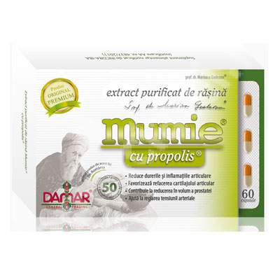 mumie pentru dureri articulare