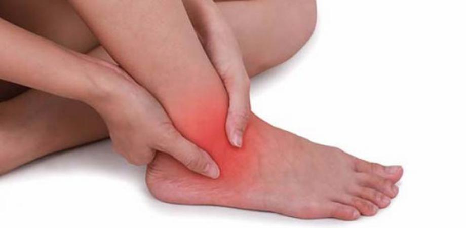 durere în articulația gleznei