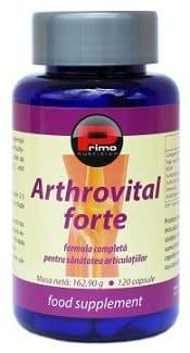 Arthrovital Forte, mg, capsule, Condroitină și nume de medicamente pentru glucozamină