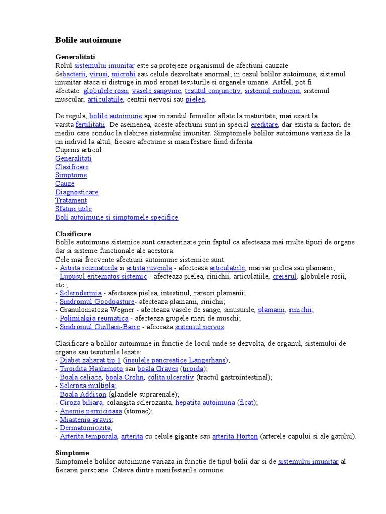 Boală autoimună - Wikipedia