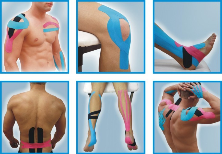 banda kinesio pentru dureri articulare
