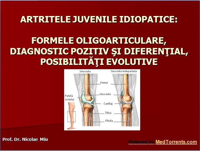 antecedente medicale pediatrie artrita genunchiului articulația cotului doare la extensie