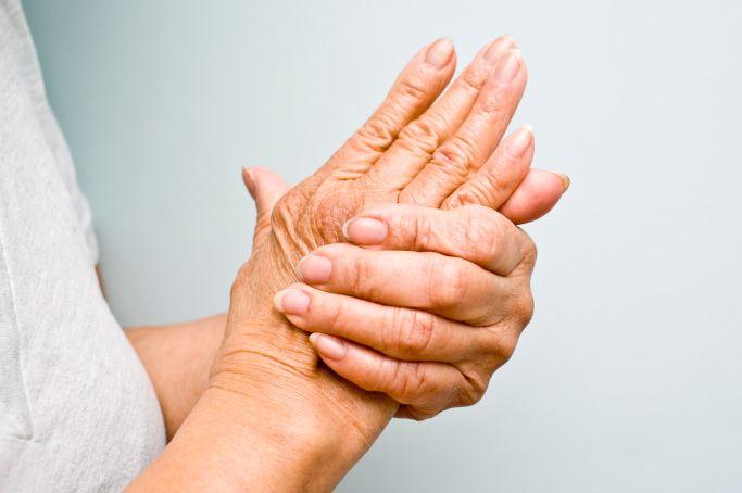dureri articulare în palma mâinii vedere a gelului articular