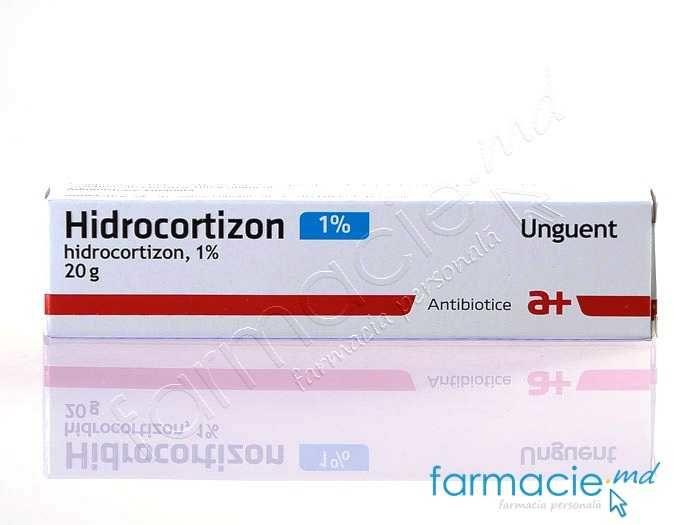 unguent cu hidrocortizon pentru tratamentul articular