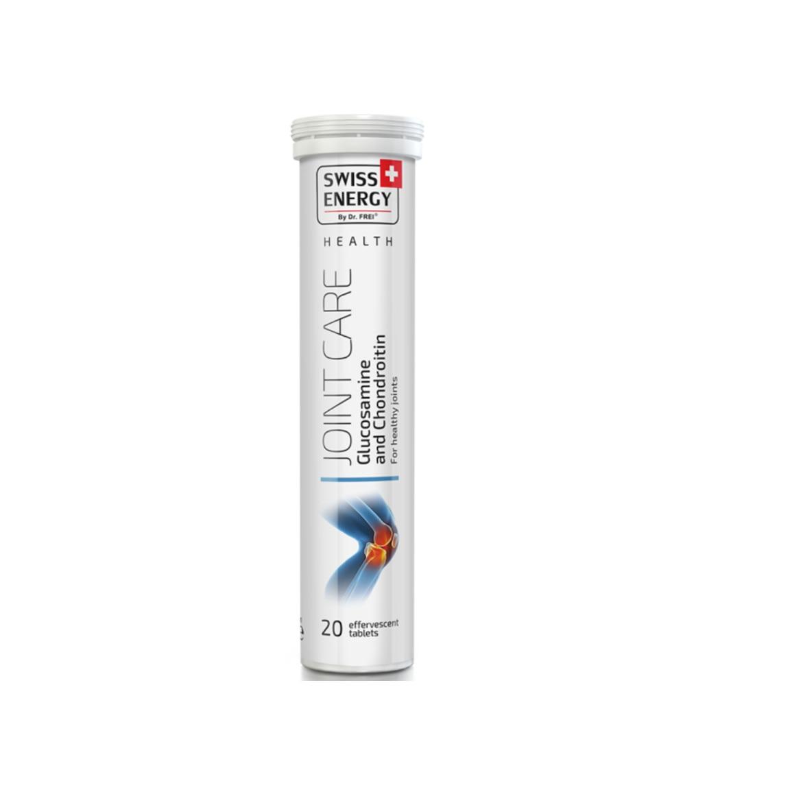 comprimate efervescente cu condroitină și glucozamină